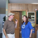 Bob and Brenda (First Service Bank) talk about the Homecoming