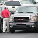 Justin show off the new GMC's