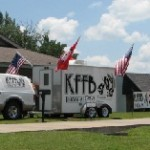 KFFB 106.1 on location at ARcare in Heber Springs