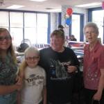 Folks love eating Blizzards for Arkansas Childrens Hospital at DQ