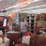 Furniture is on sale