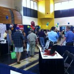 Lots of folks at White County Business Expo