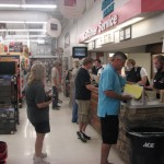 More folks checking out with great deals