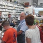 More folks sign up for prizes at Mark's Pharmacy