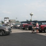 The parking lot is full in Heber Springs