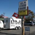 KFFB 106.1 on Location at Ed's Bakery on Veterans Day November 11, 2011