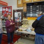 Folks enjoy daylight donuts