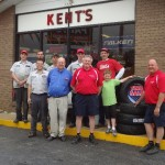Time for a picture of the staff for Kents Firestone 50th Anniversary April 27, 2012 celebration