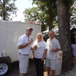 Bob Connell with Arkansas State Senate Candidate Linda Collins-Smith and Rickey Davis