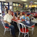 Bob with with Jacob (1st Class Scout) Jessica (Miss Ash Flat) and Chris (Eagle Scout) of the Driesel Family