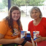 Macy Lynn Walker (ACH spokesperson) with her Grandma