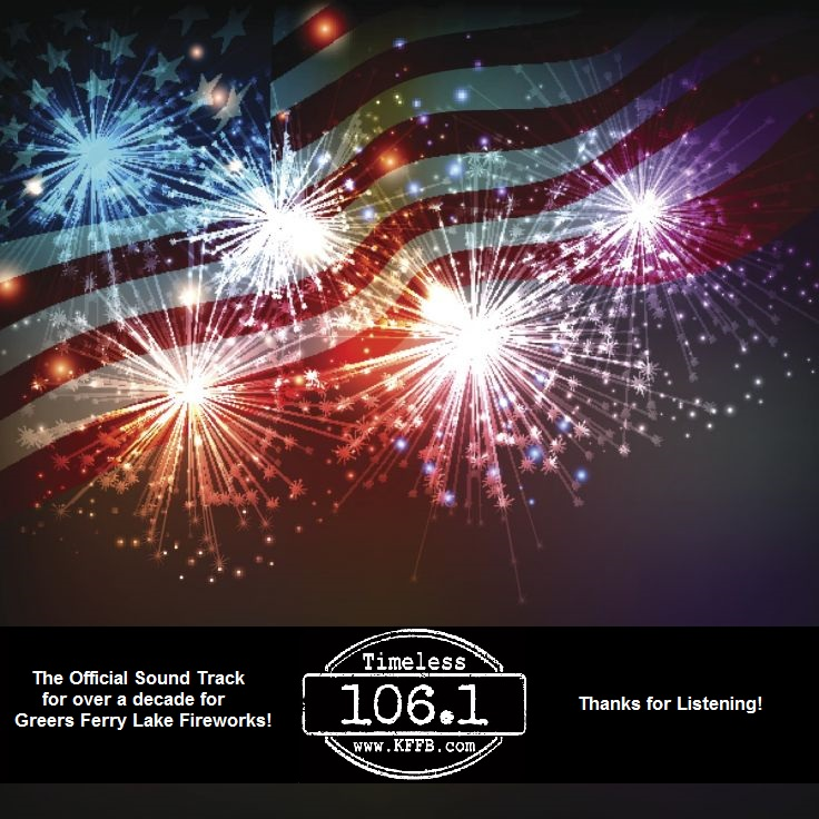 The Official Sound Track for over a decade for Fireworks