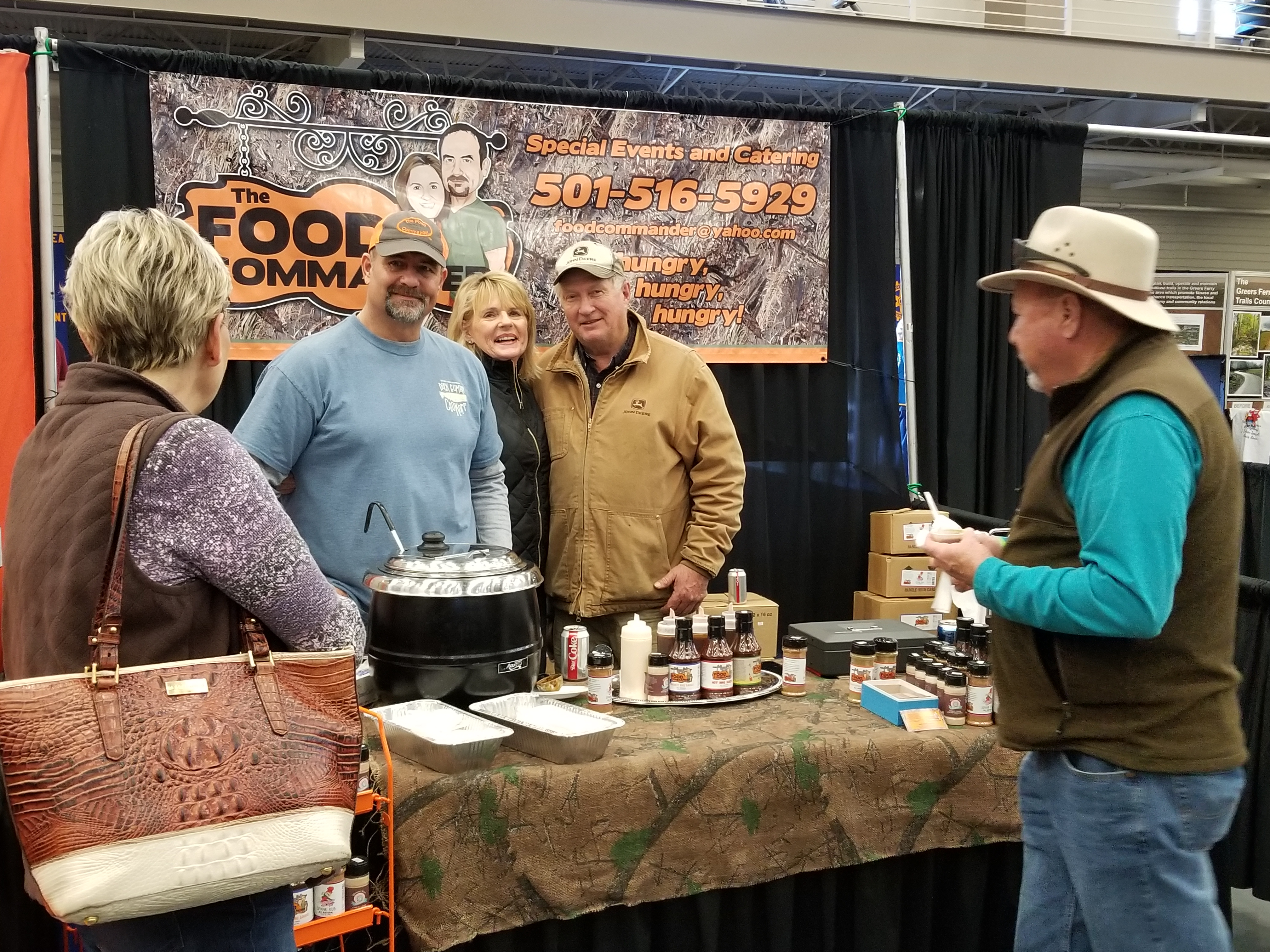 New this year was The Food Commander providing lots of Food Samples.