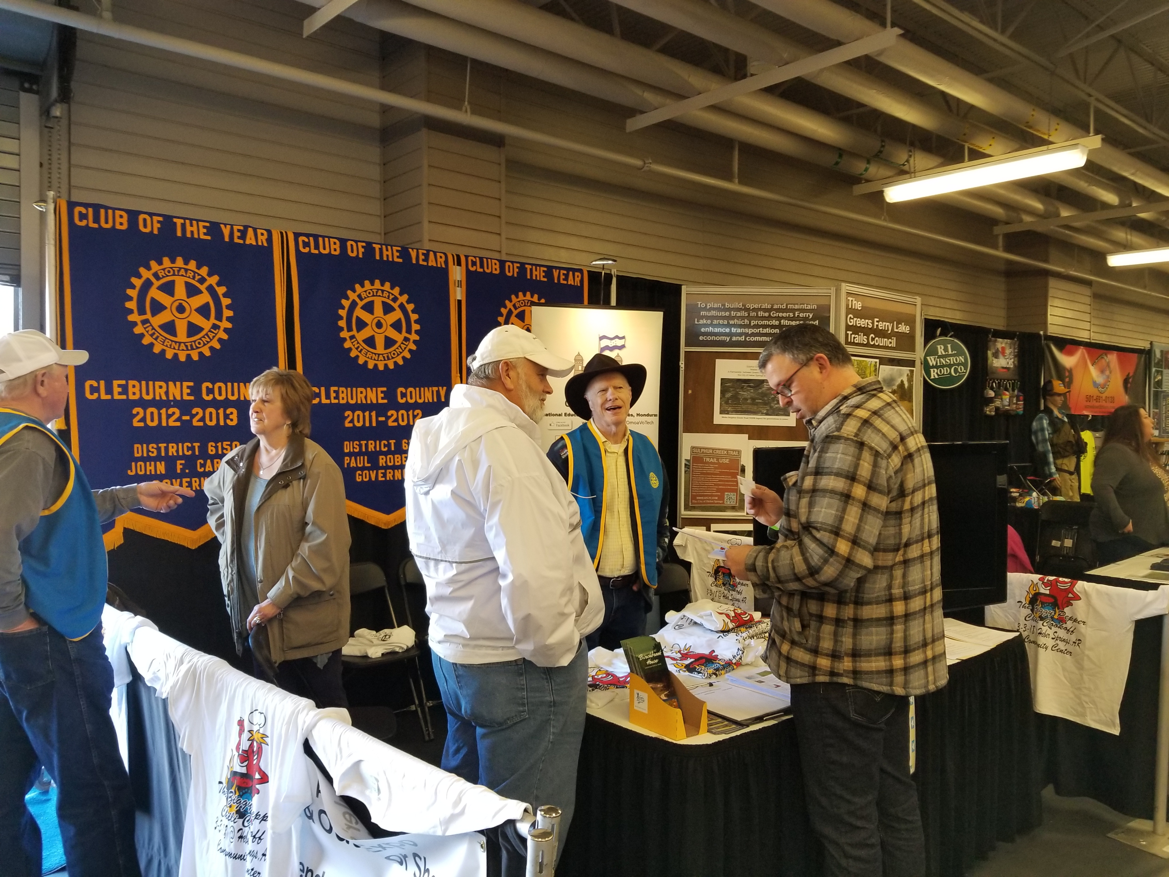Thanks to the Cleburne County Rotary Club for Anglers Expo