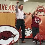 Razorback Banquet on Tuesday Night in Heber Springs was a Success!