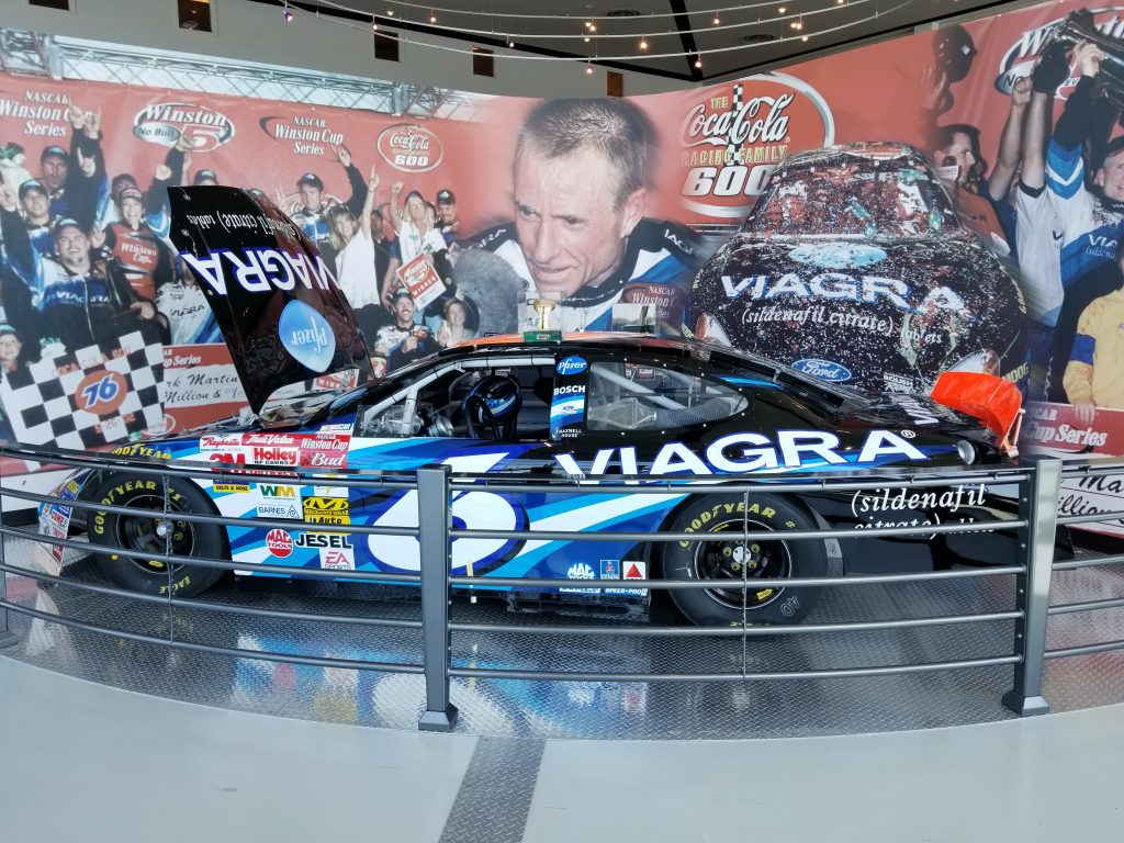 You've got to check out an Arkansas Treasure, the Mark Martin Museum in Batesville, Arkansas.