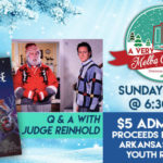 Actor Judge Reinhold to be at the Melba Theater in Batesville for Arkansas Sheriffs' Youth Ranches