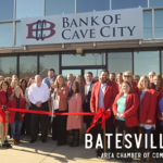 Batesville Chamber held A ribbon-cutting for Bank of Cave City, Batesville Branch