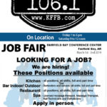 Timeless 106.1 KFFB on Location at the Job Fair at the Fairfield Bay Conference Center Fri & Sat
