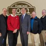 US Senator John Boozman, Mayor Paul Wellenberger, Mayor Richard McCormac, Judge Dale James, on KFFB's Open Mic with Bob Connell