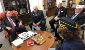 Boozman met on Tuesday, February 26 with Arkansas DAV members in Washington, D.C.
