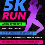 Michael Moix with Mary Jane Moix Memorial 5K Run on KFFB's Open Mic with Bob Connell April 26, 2019