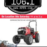 Timeless 106.1 KFFB live at Sherwood Tractor in Rose Bud, Saturday, April 13, 2019