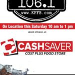 Join Timeless 106.1 KFFB at Cash Savers Cost Plus Gigantic Massive Meat Sale Friday May 10th
