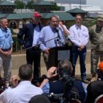 Senator John Boozman Joins Governor & Members of the Arkansas Congressional Delegation for Aerial Tour of Flooding
