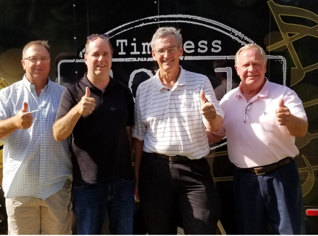 It's all thumbs up for John Carlton Mayor of Greers Ferry, Bob Connell owner of Timeless 106.1 KFFB, Paul Wellenberger Mayor of Fairfield Bay, and Jimmie Clark Mayor of Heber Springs! Don't Miss it.