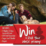 Register to win a Rock your World Giveaway online to Fairfield Bay
