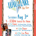 Second Annual Luau at the Lake Saturday August 3rd
