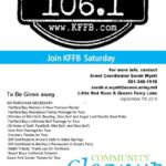 Join Timeless 106.1 KFFB at the Greers Ferry Lake and Little Red River Clean-Up in Greers Ferry Saturday, August 7th