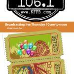 Join Timeless 106.1 KFFB at the White County Fair Senior Day Thursday September 12th