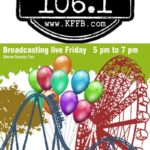 Join Timeless 106.1 KFFB at the Stone County Fair Friday September 13th