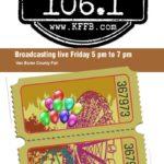 Join Timeless 106.1 KFFB at the Van Buren County Fair Friday September 20th