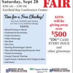 The Timeless 106.1 KFFB Regional Health and Wellness Fair, this Saturday, September 28th