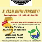 Join Timeless 106.1 KFFB at BalancingTouchWellnessCenter'sFive Year Anniversary Saturday, October 19th