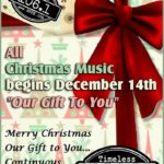 "Join Timeless 106.1 KFFB for a ""Timeless Christmas"" All Christmas Music & Stories Starting Saturday"