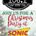 Join Timeless 106.1 KFFB At The Heber Springs Sonic For A Christmas Party, This Saturday