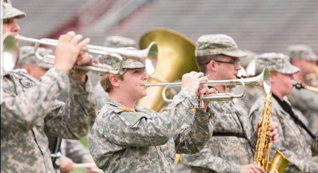 The Five Star Brass, a component of the 106th Army Band, an Arkansas National Guard